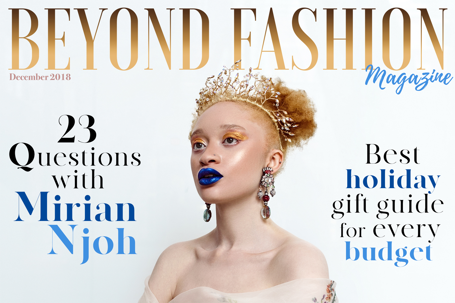 I'm Beyond Fashion Magazine's December 2018 Cover Star
